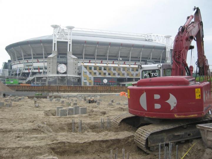Kavel 17 Parkeergarage, Tegenover Amsterdam Arena