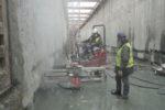 3000 gaten boren en verlijmen