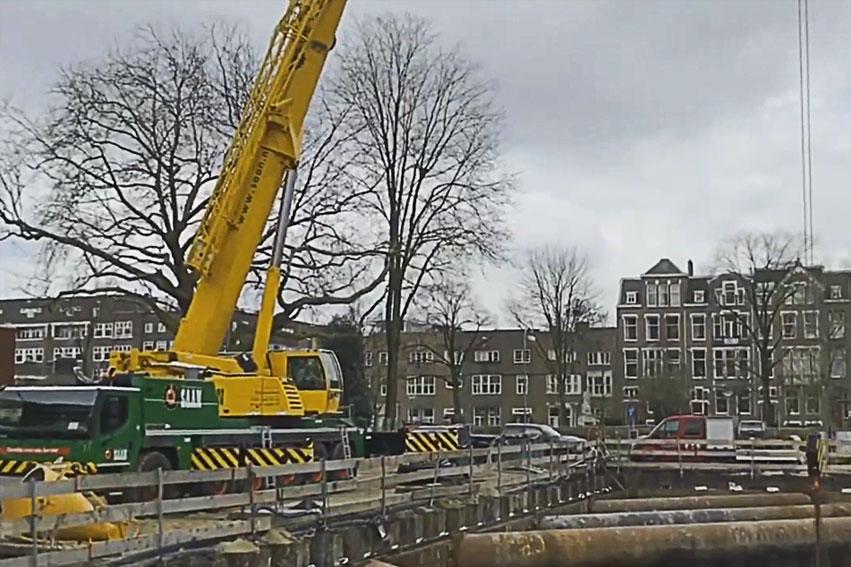 Koppensnellen In Amsterdam Met Een Aggregaat