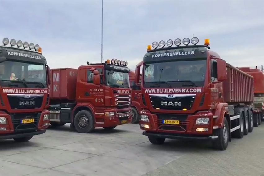 MAN vrachtwagen