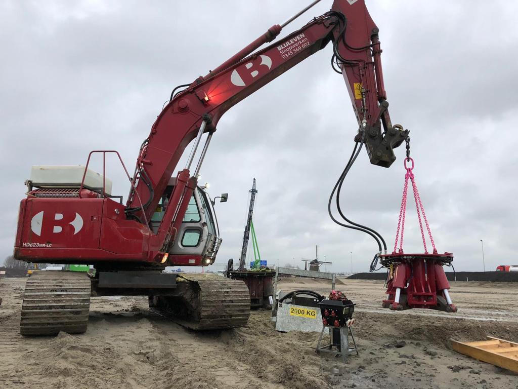 Nieuwe Koppensneller In Gebruik Bij COMOL 5 (Rijnlandroute)