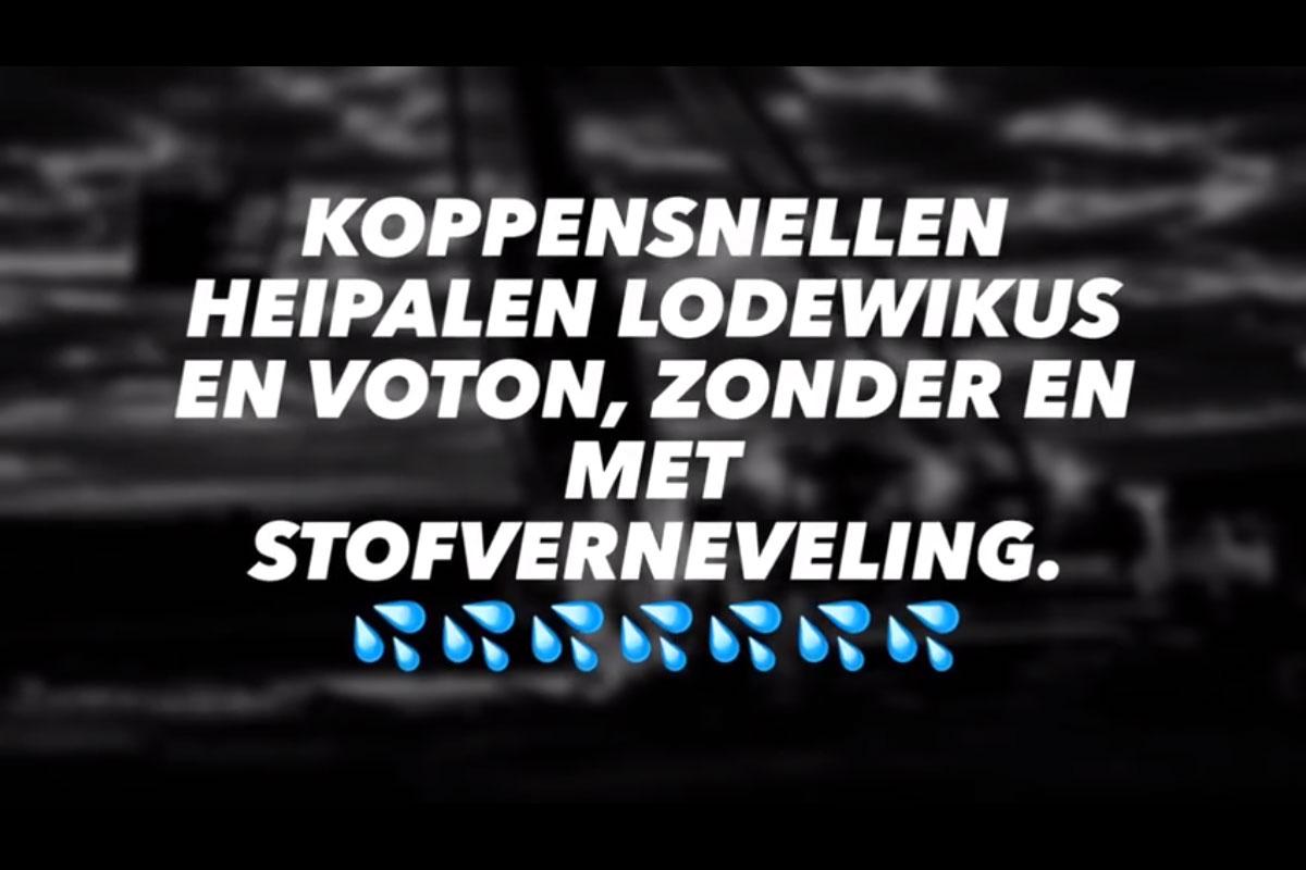 Koppensnellen Heipalen Lodewikus En Voton, Zonder En Met Stofverneveling